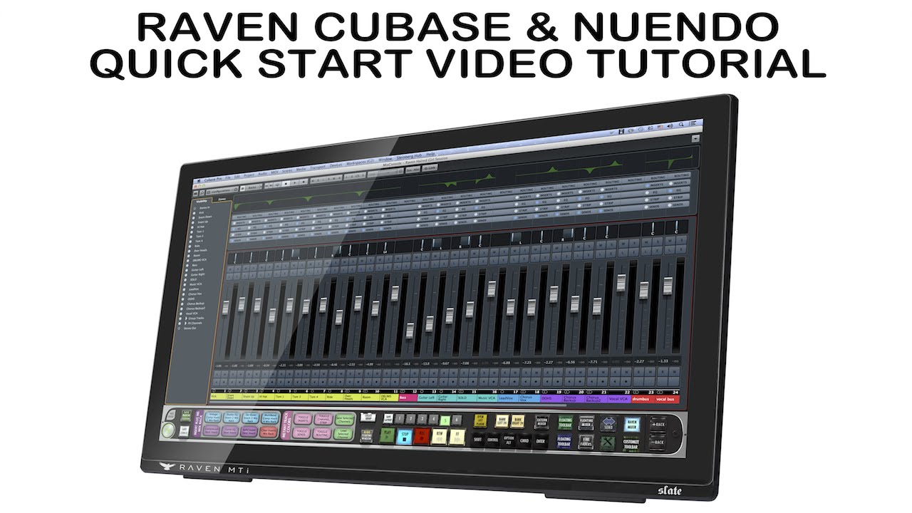 Cubase and Nuendo QS