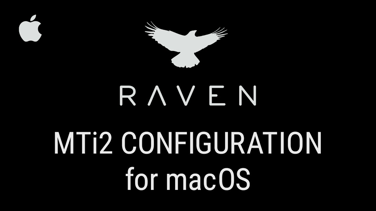 MTi2 Configuration for macOS