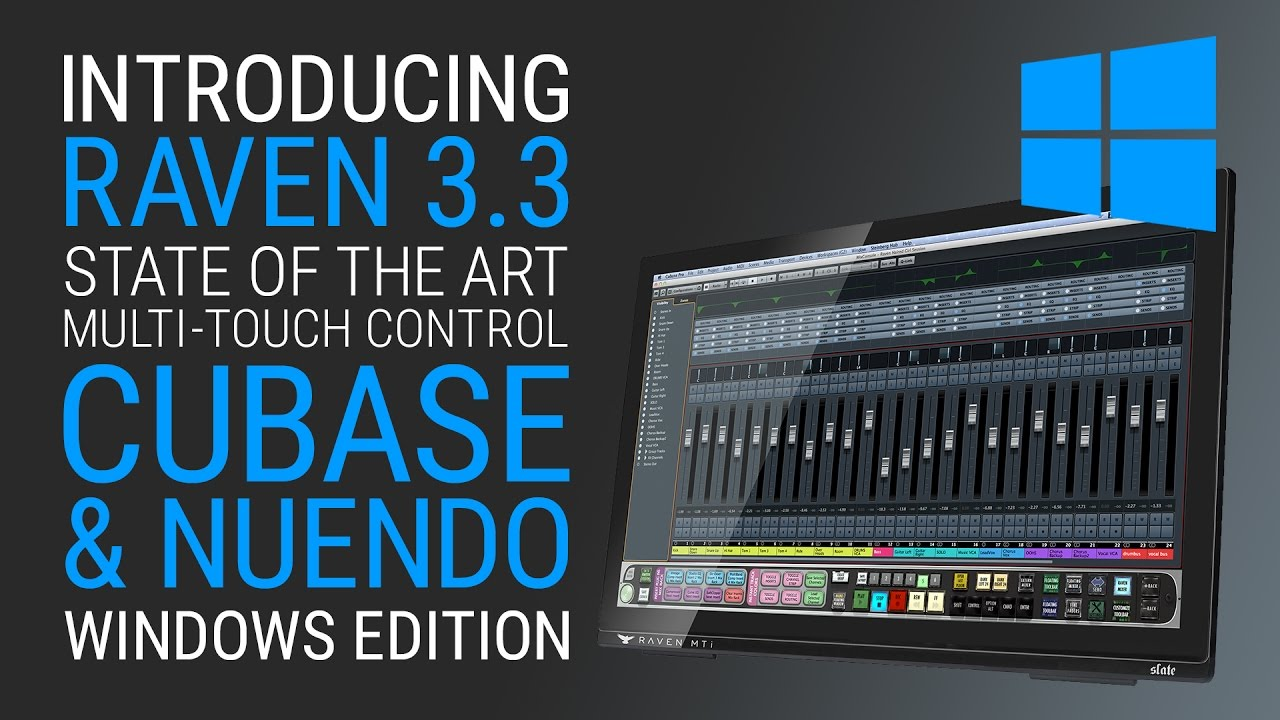 Raven 3_3 for Windows Cubase and Nuendo