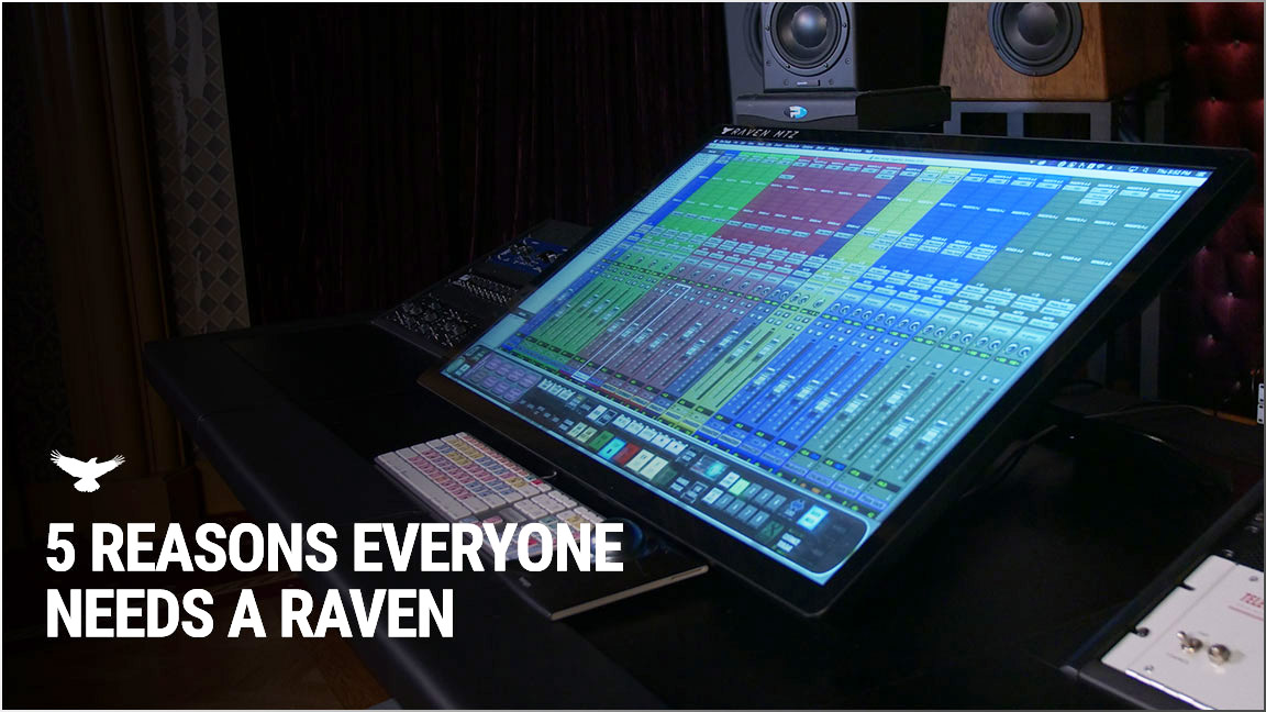Slate Media Technology - RAVEN Touchscreen Control Surfaces